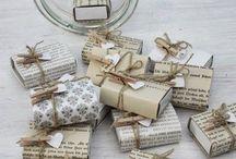 Paquetes regalo diy