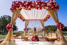 Breathtaking Indian wedding mandaps by Sushmapatel / This board shows  trendy and gorgeous wedding Mandap designs designed by 5th Season Wedding Studio