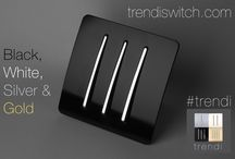 Trendi Features / All about Trendi switches; colours, models & special features
