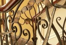 Balcons, balustrades.