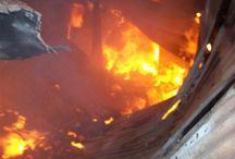 Twee Huise Brand af in Drie Dae