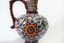 Çini Diyarı / Birinci kalite usta sanatkarlardan Kütahya Çinisi