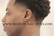 Coiffures Afros