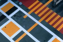 Concrete Pavement, colored pavement