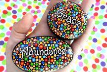 Affirmation rocks