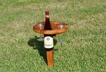 Woodworking / Backyard wine table