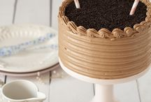 Gâteaux avec creme chocolat