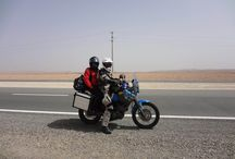Two-Up Travels Around the World / Pictures of our Yamaha exploring the world.