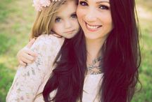 Mother daughter photography