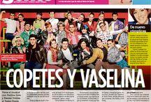 """Prensa Vaselina """"Mural Gente"""" Guadalajara / Nota de la publicación """"Mural Gente"""" del 11 de abril del 2014 de la gira del musical Vaselina en el Teatro Diana de Guadalajara.  / by Alejandro Speitzer"""