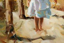 Paintings of Kids