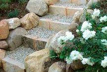 escaleiras jardim