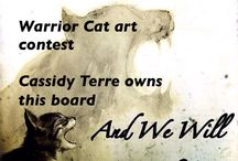 Warrior cats drawing contest / Warrior cats drawing contest. The winner will choose the themes and who wins. If a new theme isn't chosen for a while then I will choose the next theme. If you want to join or have any issues let Cassidy Terre know. Dm her. Thank you and I hope you enjoy this board