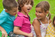 ⇜ playing outside / Fun outdoor times for children. And parents!