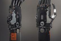 Cyberpunk Hard Surface