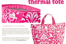 Thirty-One Gifts / Thirty-One has been one of the better decisions I've made in my life!  Let it be one of yours too!  If you'd like information on becoming  hostess or if you'd like to book a party contact me!  Www.mythirtyone.com/peggyheck  / by Peggy Heck