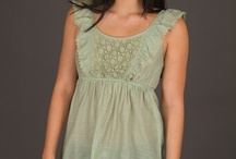 Green For Spring / Green Clothing for Spring and St. Patrick's Day