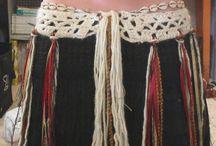 bellydance belts and ideas
