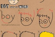 rysunek z liter lub liczb