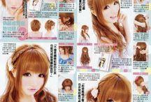 Ideas para peinados, cortes de cabello, etc<3