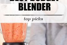 Best Blenders Reviews / blenders reviews, best budget blenders, best blenders for smoothies, best immersion blenders, best countertop blenders