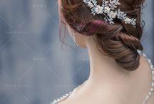 水晶銀飾_Crystal silver / #bridalfashion #bridalstyle #crystal #weddingmolding #新娘秘書 #新娘造型 #水晶 https://molding.wswed.com/fitting/silver.html