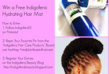 Indigofera Natural Hair Giveaways