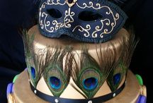 PEACOCK food cake / by Perfectly Peacocky