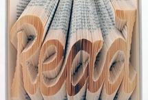{ Book Art } / Inspiring book art creations.