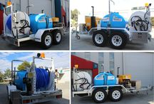 Sprintjett Trailer Mounted Water Jetters / (Units ranging from 20L/min up to 150L/min)
