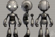 Maya models / Some WIPs and finished work done in Maya