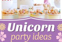 Abby's unicorn birthday