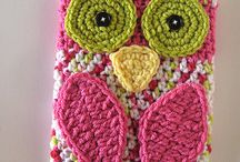 Owl / Owl things including crochet patterns