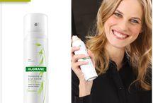 Сух Шампоан Овес / Лесно и бързо! С няколко напръсквания и разресвания, косата ви е отново чиста! www.klorane.bg