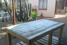 Craft and Tools - Wooden Pallet