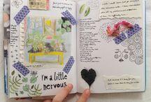 Journaling art