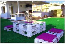 Muebles de Pallets / Recicla!!! :)