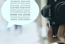 PICABOO YBK:  What Our Customers Are Saying! / Testimonials from Schools across the World that Love Picaboo Yearbooks!