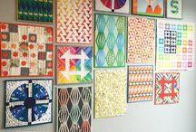Mini Quilt Wall Inspiration