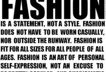 it's all about fashion