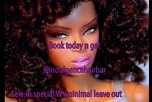 Indulgencehairbar 4.     Calling all Students (w/ID) Improve your selfies! And book today n get  sew-in special W /minimal leave out  $ /  Calling all Students (w/ID) Improve your selfies! And book today n get  sew-in special W /minimal leave out  $100 Tuesday's n Wednesday's ONLY #minimalleaveout #hairweaving #hair #nyc #harlemstylist #indulgencehairbar ##hairextensions