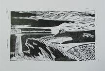 My Lino Prints / Lino prints I have made.