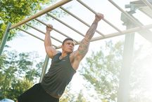 Let's Get Fit! / Outdoor fitness equipment, recipes, and other ideas to stay fit.