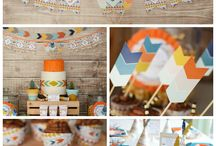 Tribal Baby Shower Decorating Ideas / Inspiration for planning a Tribal Baby Shower