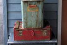 Rusty Shabby Porch Inspiration / by Tracy Johnson