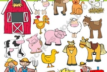 Art & Doodles - Animals - Farm / by Heather R