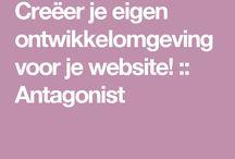 nieuwe website technisch