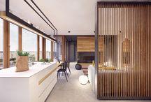 Room Dividers / Divisores / by Rocio Jimenez | Casa Haus