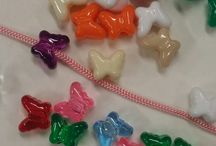 Plastic Beads / These can  be used to create many designs and decorations. Good Quality. Superb for hair wraps also For more plastic beads visit  http://www.pioneercraft.com/index.php?main_page=index&cPath=3&zenid=5i5qs2li59vc0etiepbfu06qt4