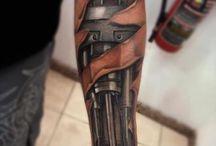 Biomecánicos / Tatuajes para ideas